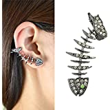 Sumanee Wedding New Hot Sale Fashion Jewelry Classic Fishbone Earrings Cuff Ear Stud