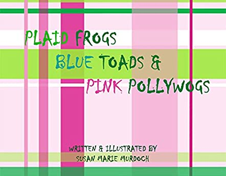Plaid Frogs Blue Toads & Pink Pollywogs
