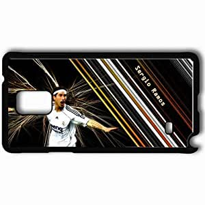Personalized Samsung Note 4 Cell phone Case/Cover Skin All soccer playerz sergio ramos new Black by icecream design