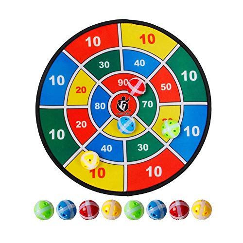 (Cherry-Lee Ball Sticky Dartboard Children Training Sticky Ball Toys Parent-Child Outdoor Indoor Interactive Game)
