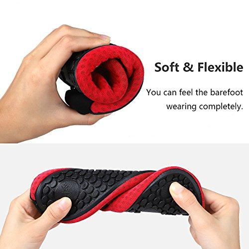 red Aqua Quick Shoes Beach Swim Swim Dot Socks Shoes Women for Men Heeta Dry Water Sports Barefoot xaqw1aFR