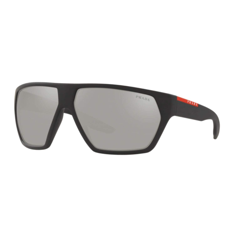 Prada Linea Rossa 0PS 08US Gafas de sol, Black Rubber, 66 ...