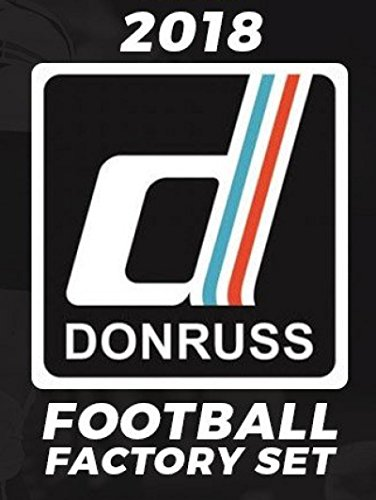 2018 Panini Donruss NFL Football Factory Set (prepriced $49.99, incl. ONE exclusive Rookie Memorabilia card)