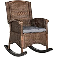 Safavieh Home Collection Bali Antique Grey Rocking Chair