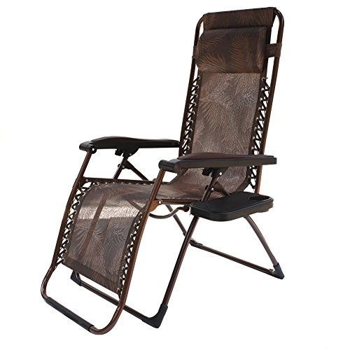 Le Papillon Zero Gravity Chair Adjustable Reclining Chair Patio Lounge Chair by Le Papillon