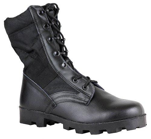 MaelStrom Black 9'' Military Boot - M1190