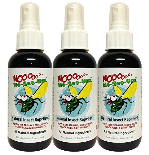 No No-See-Um Natural Insect Repellent 4oz (3 Pack)