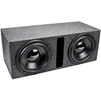 Skar Audio Dual 12 1000 Watt Subwoofer Package - Includes 12-Inch Dual 2 Ohm Subwoofers in Ported Box