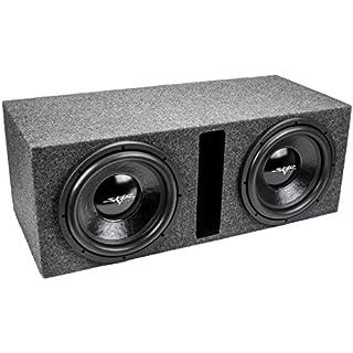 Sale Skar Audio Dual 12' 1000W Dual 2 Ohm Loaded Vented Subwoofer Enclosure | IX12D2-2X12VENTED