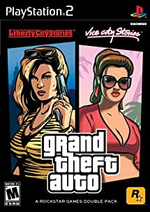 Grand Theft Auto Double Pack Liberty City Stories Vice City Stories Playstation