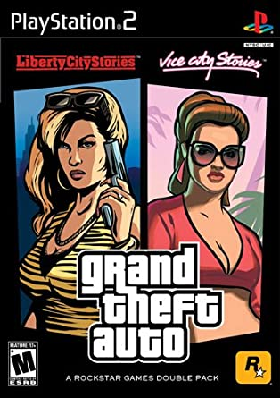 GTA Liberty City Stories/Vice City Stories 2 Pack - PlayStation 2