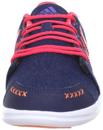 adidas Performance Girlow K Q22700 Mädchen Outdoor Fitnessschuhe Blau (Collegiate Navy / Joy S13 / Bliss Coral S13)