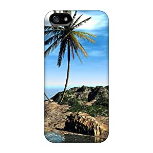 New Style Cases Covers ZIG2175mysC 3d Landscape Compatible With Iphone 5/5s Protection Cases