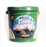 Heirloom Organics NON-GMO Grain Seed Pack - 9 Varieties Non-Hybrid Grain Seeds - Hermetically Sealed for Long Term Storage