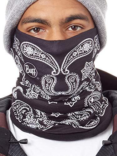 Buff Pañuelo Multifunción Polar - Patterned Cashmere Negro (Default, Negro)