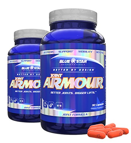 Blue Star Nutraceuticals Joint Armour Mobility and Recovery Support (90 Capsules) (2)