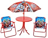 Fun Spaces 1668-55 Conjunto jardín Avengers, color Rojo