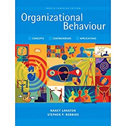 VangoNotes for Organizational Behaviour, Fourth Canadian Edition