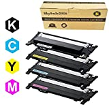 404s toner Cartridge Replacement For Samsung 404 404S CLT-K404S CLT-C404S CLT-M404S CLT-Y404S (1 Black+ 1 Cyan+ Magenta +1 Yellow) By Skybule2016