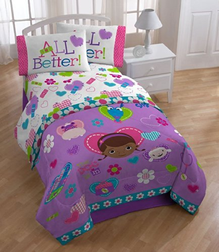 Doc McStuffins 'Doc and Friends' Twin / Full Size Comforter
