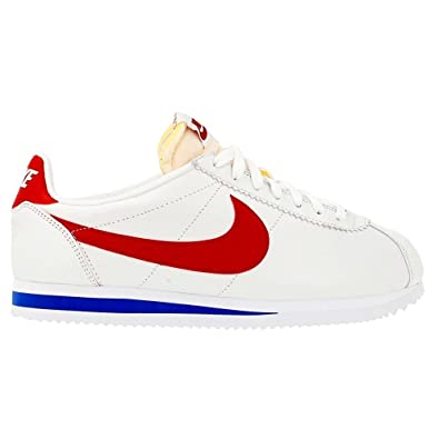pretty nice 3b9d0 bf553 ... sweden amazon mens nike classic cortez premium qs forrest gump running shoes  724262 184 white varsity
