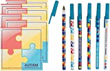 Autism Awareness Pens and Sticky Note Pads 12 - Best Reviews Guide