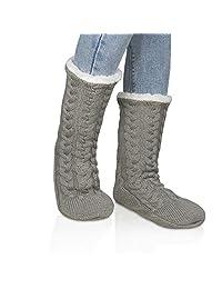 American Trends Womens Girl's Cute Soft Fuzzy Socks Cozy Winter Warm Slipper Socks