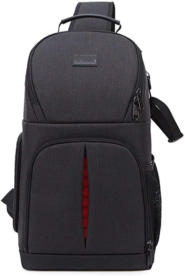 Color : Black, Size : 22x16x38cm DQJKL Camera Backpack Camera Backpack Waterproof Photography Bag Large Capacity Multifunctional Camera Backpack Camera Bag