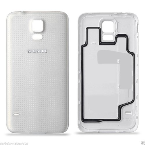 promo code b4783 386c1 Battery Door Back Cover Case Housing For Samsung Galaxy S5/i9600 Original  (White)