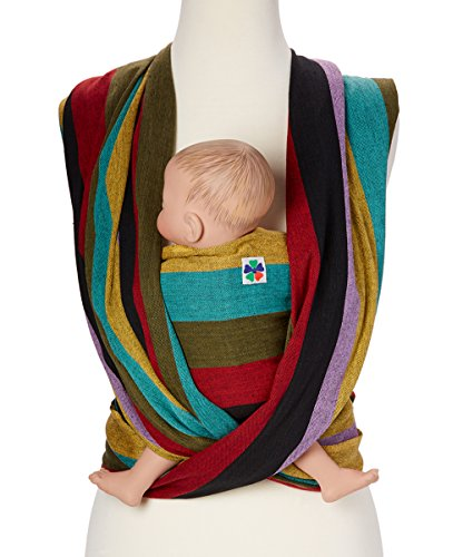 Woven Wrap Baby Carrier for Infants and Toddlers (Autumn)