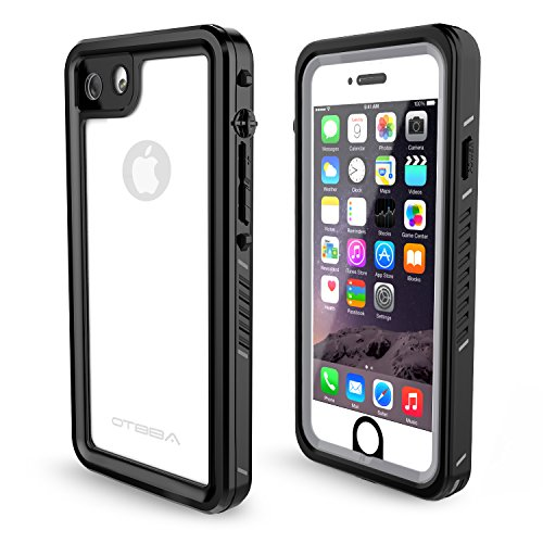 OTBBA iPhone 7/8 Waterproof Case,IP68 Certified Waterproof Shockproof Snowproof Dirtproof Full Body Protective Underwater Case for iPhone 7/8