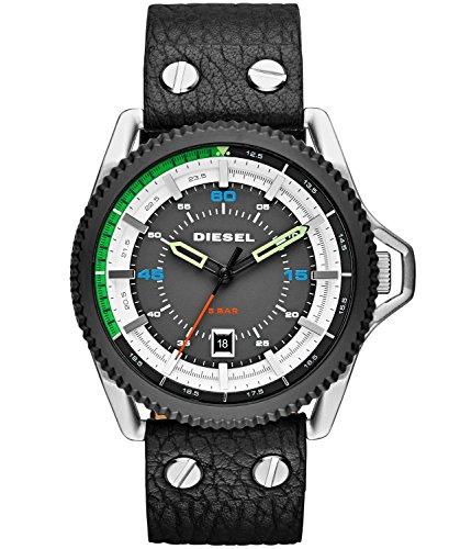 Diesel Men's DZ1717 Rollcage Analog Display Analog Quartz Black Watch from Diesel