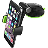 Mantto Car Phone Holder, Universal Car Mount Dashboard GPS Cell Phones Holder for Car with Washable Strong Sticky Gel Pad for iPhone X 8 Plus 7 7 Plus 6s 6 Samsung Galaxy S8 Plus S7