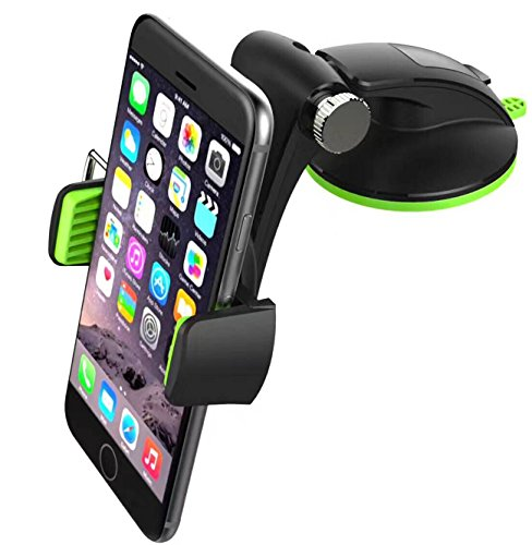 Mantto Car Phone holder, Universal Car Mount Dashboard GPS Cell Phones Holder for Car with Washable Strong Sticky Gel Pad for iPhone X 8 Plus 7 7 Plus 6s 6 Samsung Galaxy S8 Plus (Front Lower Arm Holder)