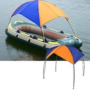DEWIN Refugio para embarcaciones - Refugio para embarcaciones al Sol, Funda para toldos para veleros, Tienda de Pesca, Sombrilla