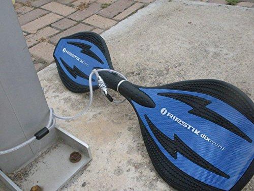 Valet My Stick Skateboard Razor RipStik scooter combination cable lock New  eBay