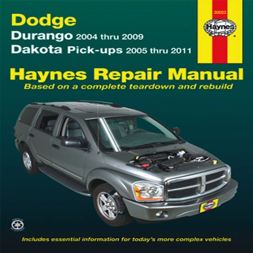 dodge dakota repair manual - 4