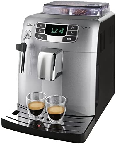 Saeco Intelia HD8751/71 - Cafetera (Independiente, Máquina espresso, 1,5 L, Molinillo integrado, 1900 W, Plata): Amazon.es: Hogar