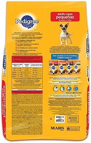 PEDIGREE Alimento para Perros Adultos de Razas Pequeñas 4kg 3