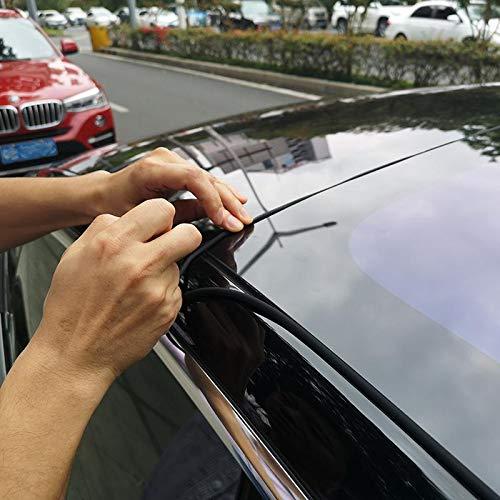 Noise Reduction Windshield /& Roof Wind Guard Womdee Tesla Model 3 Windproof Seal Strip Dustproof Easy Installtion For Tesla Model 3