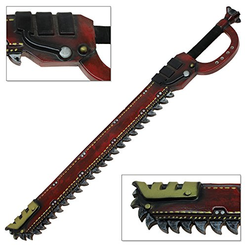 Space Pirate Soft FOAM Chainsaw Sword Latex LARP Prop Weapon