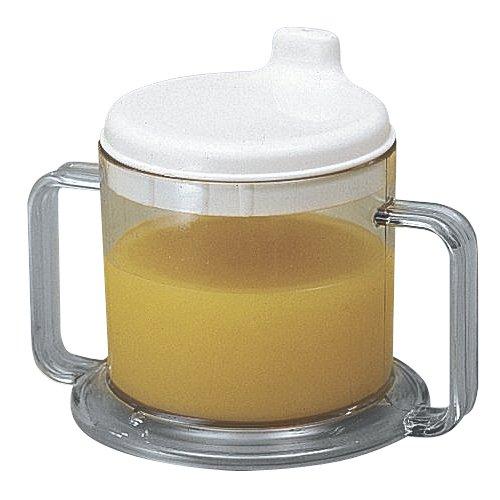 Maddak 237ml Transparent Mug with Drinking Spout (745960000)