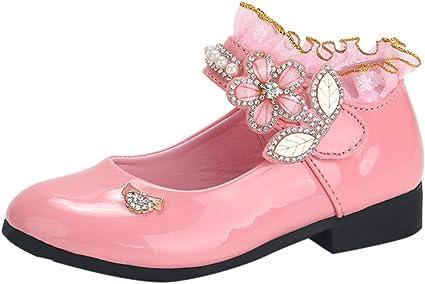 Posional Zapatos De Princesa De Moda Zapatos Bebe 2019 Zapatos De NiñA Verano Lentejuelas De Diamantes De ImitacióN Dance Nubuck PU Zapatos De Cuero Individuales: Amazon.es: Oficina y papelería