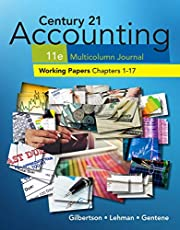 Print Working Papers, Chapters 1-17 for Century 21 Accounting Multicolumn Journal, 11th Edition