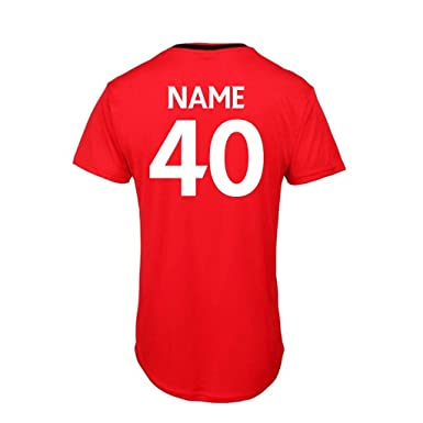 Bang Tidy Clothing Mens 40th Birthday Gift Official Liverpool Personalised Football Shirt GIFT BOX Amazoncouk