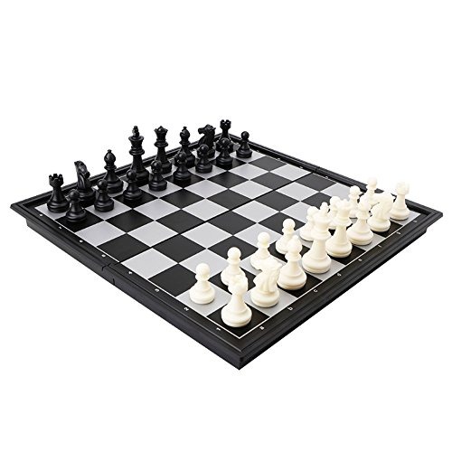 Travel Magnetic Chess, Checkers, Backgammon by Adtop