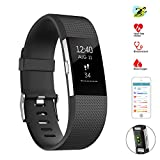 Betheaces Fitness Tracker Watch Heart Rate Blood Pressure Monitor Smart Wristwatch Body Health Tracker - Multi-function Sports Activity Watch Calorie Counter Sleep Quality Sedentary for Kids & Adults