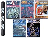 Star Wars Gift Poker Fun Novelty Playing Cards Multipack Heroes Villians Vehicles Darth Vaderwith COOL Slapstick (CardsSet2)