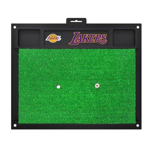 Los Angeles Lakers Golf (FANMATS 15446 Los Angeles Lakers Golf Hitting Mat)