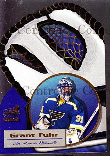 (CI) Grant Fuhr Hockey Card 1999-00 Aurora Glove Unlimited 17 Grant Fuhr